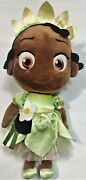 Disney Tiana Toddler Plush Doll, 12 Big Eyes, Pre-owned Excellent Condition