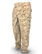 Military Issued Usmc Tan Marpat Pants-small-lot Of 9
