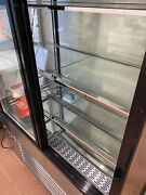 """Refrigerated Glass Side Bakery Cakes Display Case 48"""" Wide 55"""" Tall Pick Up"""