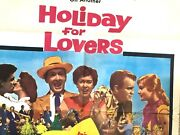 Clifton Webb Holiday For Lovers Original Movie Poster 28x41 Folded One-sheet