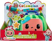 Cocomelon Musical Checkup Case Music Play Doctor Checkup Song 4 Piece Set New