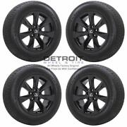 18 Lexus Rx350 Gloss Black Wheels Rims And Tires Oem Set 4 2016-2019 74336