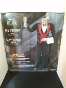 Lifesize Animated 7 Foot Tall Lurch The Butler Halloween Prop Display - Talks