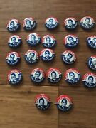 22 George Wallace For President Pin Button Stand Up For America