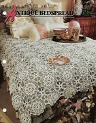 New Antique Bedspread Annieand039s Crochet Quilt And Afghan Club Pattern Instructions