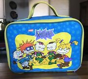 Vintage Soft Fabric Lunchbox- 1997 Rugrats