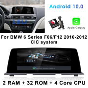 Android Car Gps Navigation Video Wireless Carplay For Bmw 6 Series F06 F12 2010