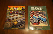 2 Model Railroading Books How To Build 1st Lionel Layout And Ho Model Rr Guide