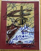 Cleveland Cavaliers 2003-2004 Official Yearbook Signed Autographs Lebron James