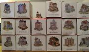 Liberty Falls The Americana Collection 1993 Huge Lot Collection Town Village Box
