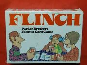 1976 Flinch Card Game Parker Brothers Famous Card Game New