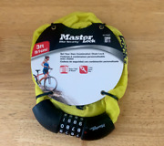 Master Lock Bicycle Chain , 4-digit Resettable Combination Anti-theft Bike Chain