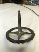 Center Gear Part For Antique English/scottish Long/tall Grandfather Clocks