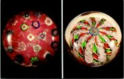 Vintage Postcard Antique Glass Paperweights From The Evangeline Bergstrom Collec