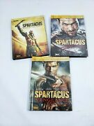 Spartacus Dvd's Season 1, 2 And Gods Of The Arena Complete