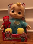 Cocomelon Musical Bedtime Jj Doll With Plush Tummy And Roto Head, Ships Now