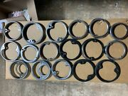 Lot Of 1930and039s 1940and039s 1950and039s Vintage Tail Light Lamp Bezels