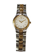 Coach 14200009 Unisex 35mm Two-tone Silver And Gold Stainless Steel Quartz Watch