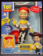 Disney Pixar Toy Story Jessie Andnbspdeluxe Pull String Talking Doll Over 20 Phrases
