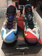 Lebron Xi Limited Edition What Theandrsquos Size 9.5 Brand New W/ Box