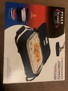 Pyrex Microcore Portables Carrier With 3 Qt Glass Dish Hot And Cold Packs 233-s