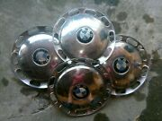 4 Classic Bmw Hubcaps 02 Series