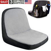 Lawn Mower Seat Cover With Pockets Riding Garden Ride On Tractor Husqvarna Parts
