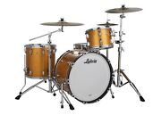 Ludwig Classic Maple Gold Sparkle Mod 18x22_8x10_9x12_16x16 Special Order Drums