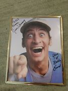 Jim Varney Ernest Signed Autograph Auto 8x10 Promo Photo In Frame - Rare Find