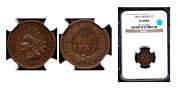 1864l 1c Ngc Xf40 Sharp Color- Indian Head Cent++