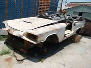 1959 Ford Thunderbird Convertible Car Body Shell Only