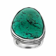 Silpada And039tumbled Turquoiseand039 Natural Turquoise Ring In Sterling Silver