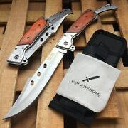 Tactical Survival Folding Knife Hunting Pocket Knifes Army Rescue Combat Knives
