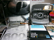 Polaroid Camera Film Inclusive Good +ready To Shoot Package Iconic Silver Gift