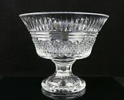Large Waterford Crystal 10d Footed Centerpiece Bowl