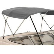 4 Bow Boat Bimini Top Boat Cover Set With Boot And Rear Support Poles 9 Colors