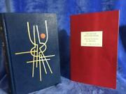 Les Miserables Victor Hugo Traycased Leather Folio Society - Collector's Item