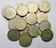 Sweden 1 Krona Investment Lot 1952-1968 Silver Coins Investment Lot Of 32 Coins
