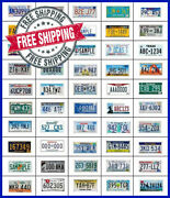 Authentic State License Plates 50 States Expired Plate Lot Pick Your State Used