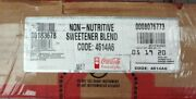 Coca Cola Freestyle 2.5 Gal Non-nutritive Sweetener Blend Syrup Diet Sweetner
