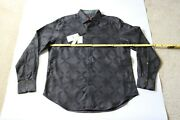 Robert Graham Embroidered Rare Limited Edition Mens Shirt Size L Mark Times