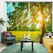 Lawn Clear Absolute 3d Curtain Blockout Photo Printing Curtains Drape Fabric