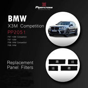 Pipercross Air Filter Set Pp2051 For Bmw X3m F97 Inc Competition