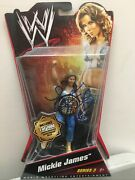 Wwe Diva Tna Knockout Mickie James Series 3 Wrestling Figure Nxt Aew Signed Auto