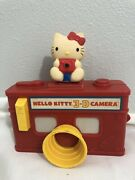 Vintage Hello Kitty Viewmaster 3d Camera Red Toy 1984 Sanrio Rare