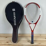 Wilson Ncode Oversize Tennis Racquet Grip 4 1/2 Nfusion With Case