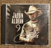 Country Western Stud Jason Aldean Signed Autographed 9 Cd Brand New