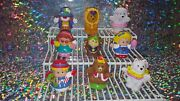Fisher Price Little People Set Of 9 Circus Figures Lion Bear Dog Clown Monkey A