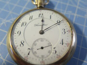 Hamilton Watch Co Lancaster Pa 1911 Railroad Pocket Watch 17 Jewels With Nice