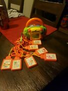 Sesame Street Music Player 7 Kid Clips Cartridges Classic Songs 2003